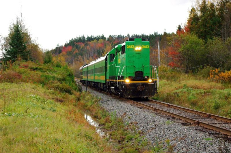 NBSR 2612 Leaving Saint John, NB 2011/10/12 by David Morris