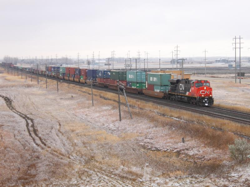 CN 2254 and train 101