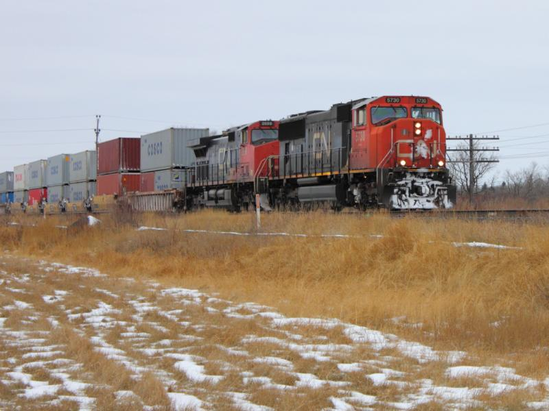 CN 5730 East in Winnipeg