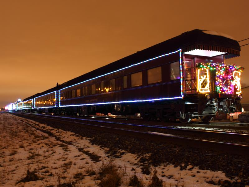 The Canadian Pacific Railway VAN HORNE car on the Holiday Train