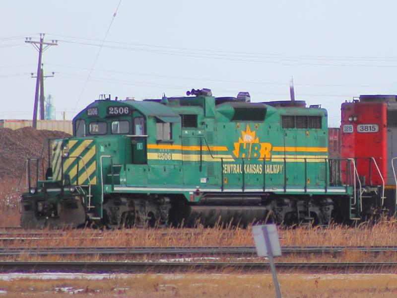 Hudson Bay Railway 2506 in Winnipeg