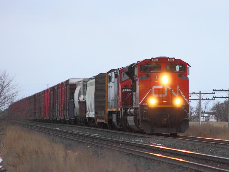 CN 8898 in Winnipeg