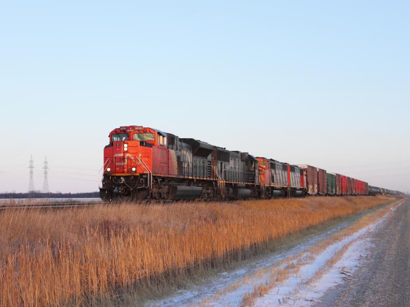 CN 8890 in Winnipeg Manitoba