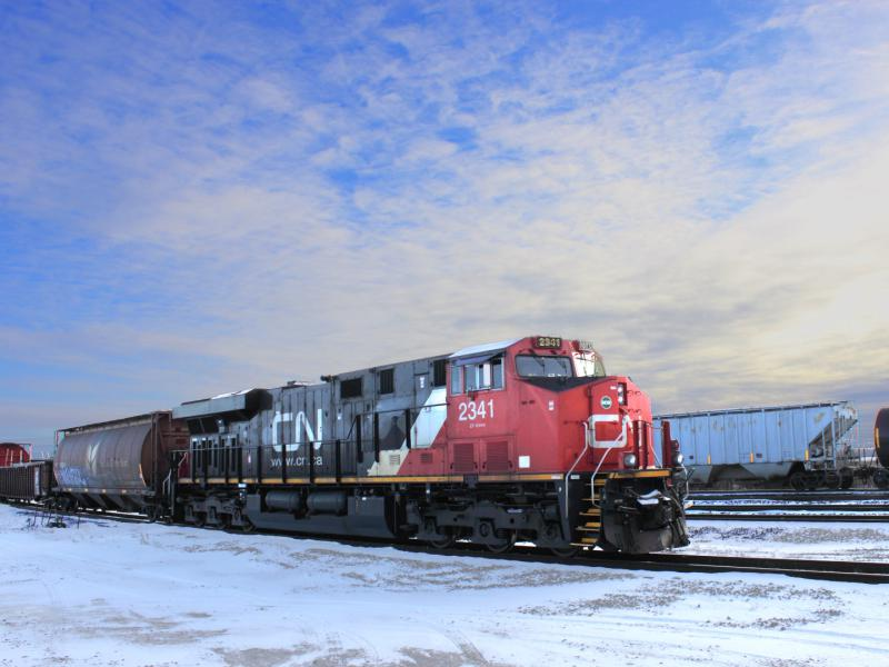 CN 2341 in Winnipeg