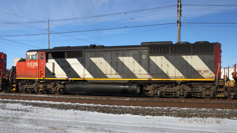 CN 5526 in Winnipeg