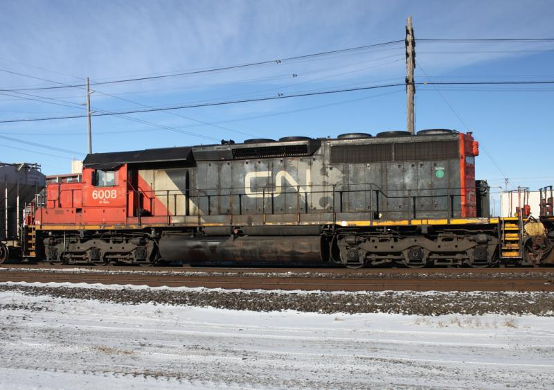 CN 6008 in Winnipeg