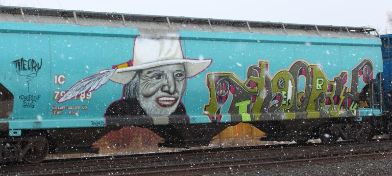 Willie Nelson on IC 799789 in Winnipeg, MB 2012/02/15