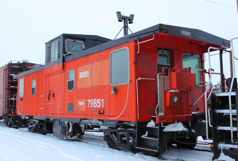 HBRY 79851 in Thompson, MB 2012/03/07