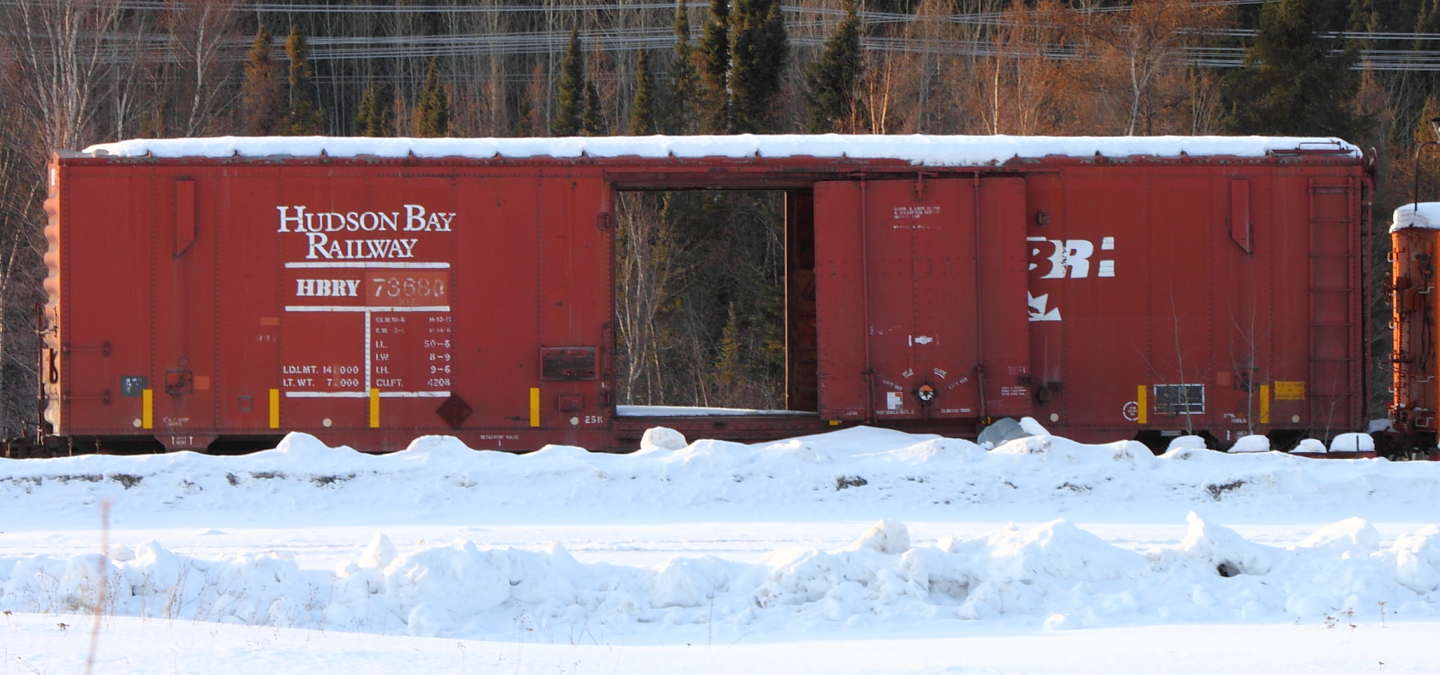HBRY 73680 in Thompson, MB 2012/03/06