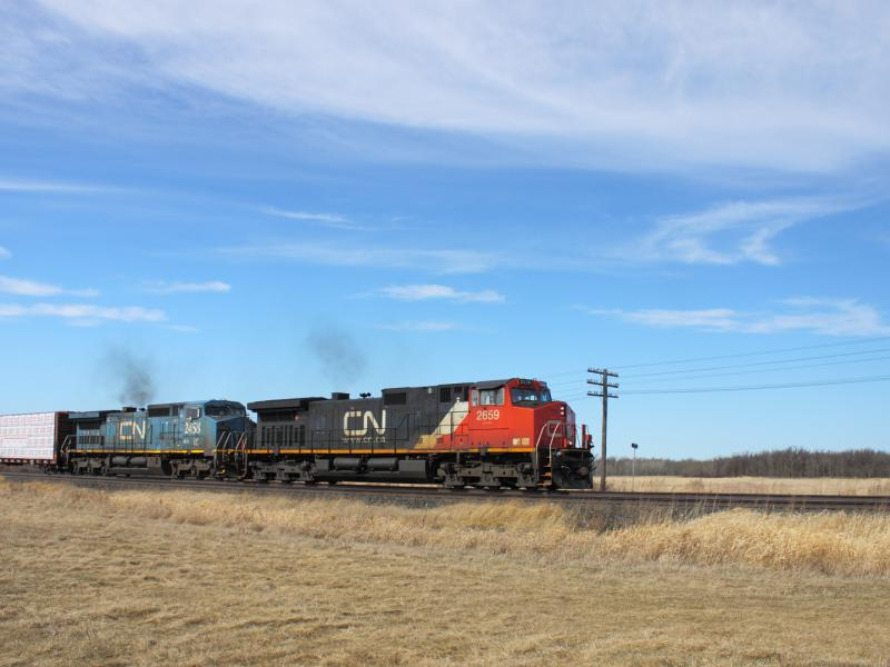 CN 2659 in Winnipeg