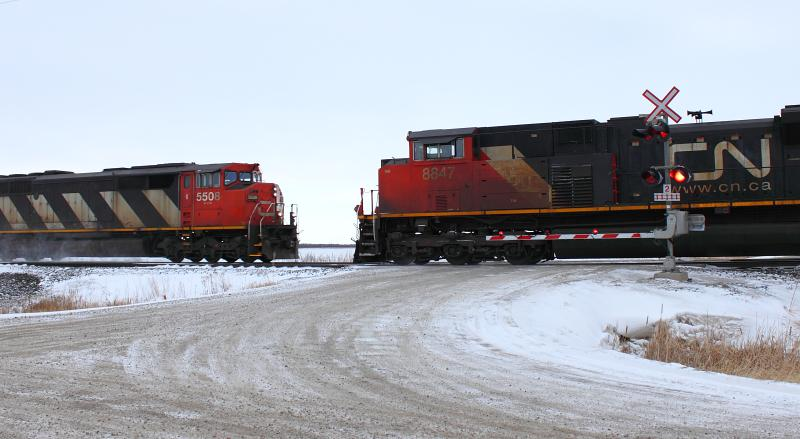 CN 5508 near Winnipeg