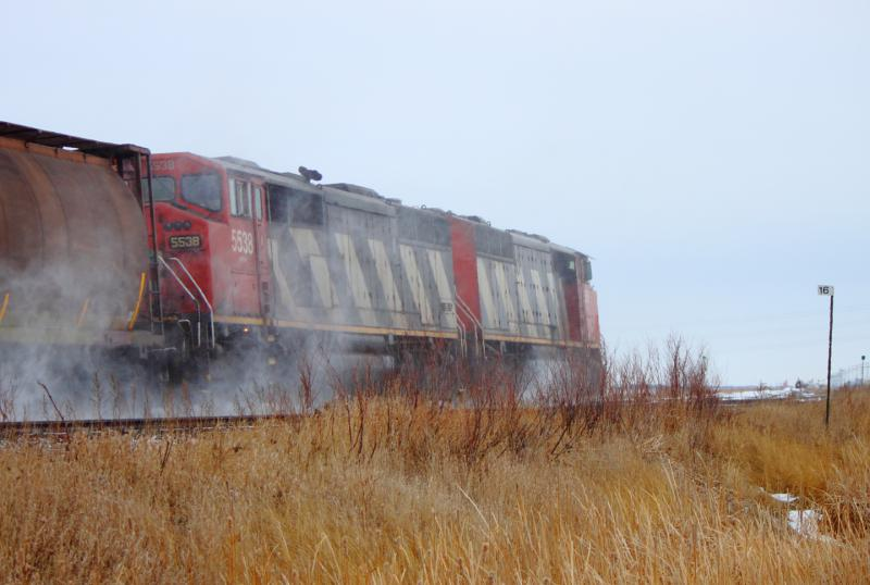 CN 5538 in Winnipeg