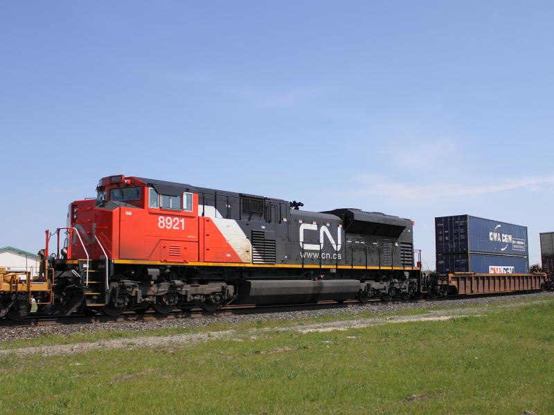 CN 8921 in Winnipeg