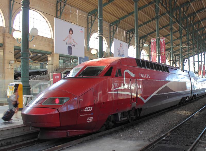 Thalys 4533 in Paris, France 2012/05/26