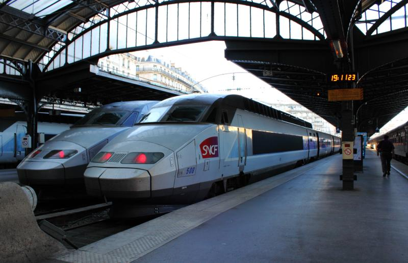 TGV 508 at Gare de l'Est, Paris, France 2012/05/26