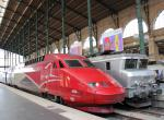 Thalys trainset 4536 in Paris, France 2012/06/01