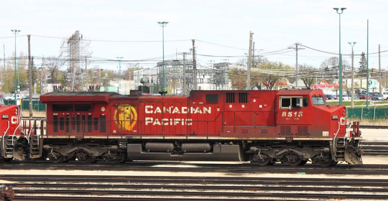 CP 8515 in Winnipeg