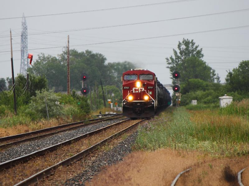 CP 8761 in Winnipeg
