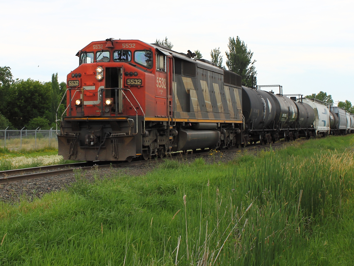 CN 5532 in Winnipeg, MB 2012/07/12