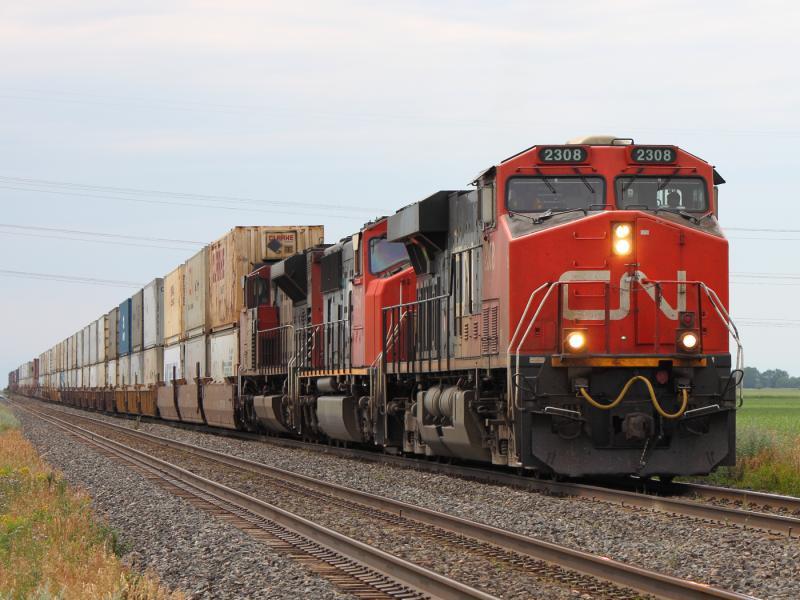 CN 2308 in Winnipeg