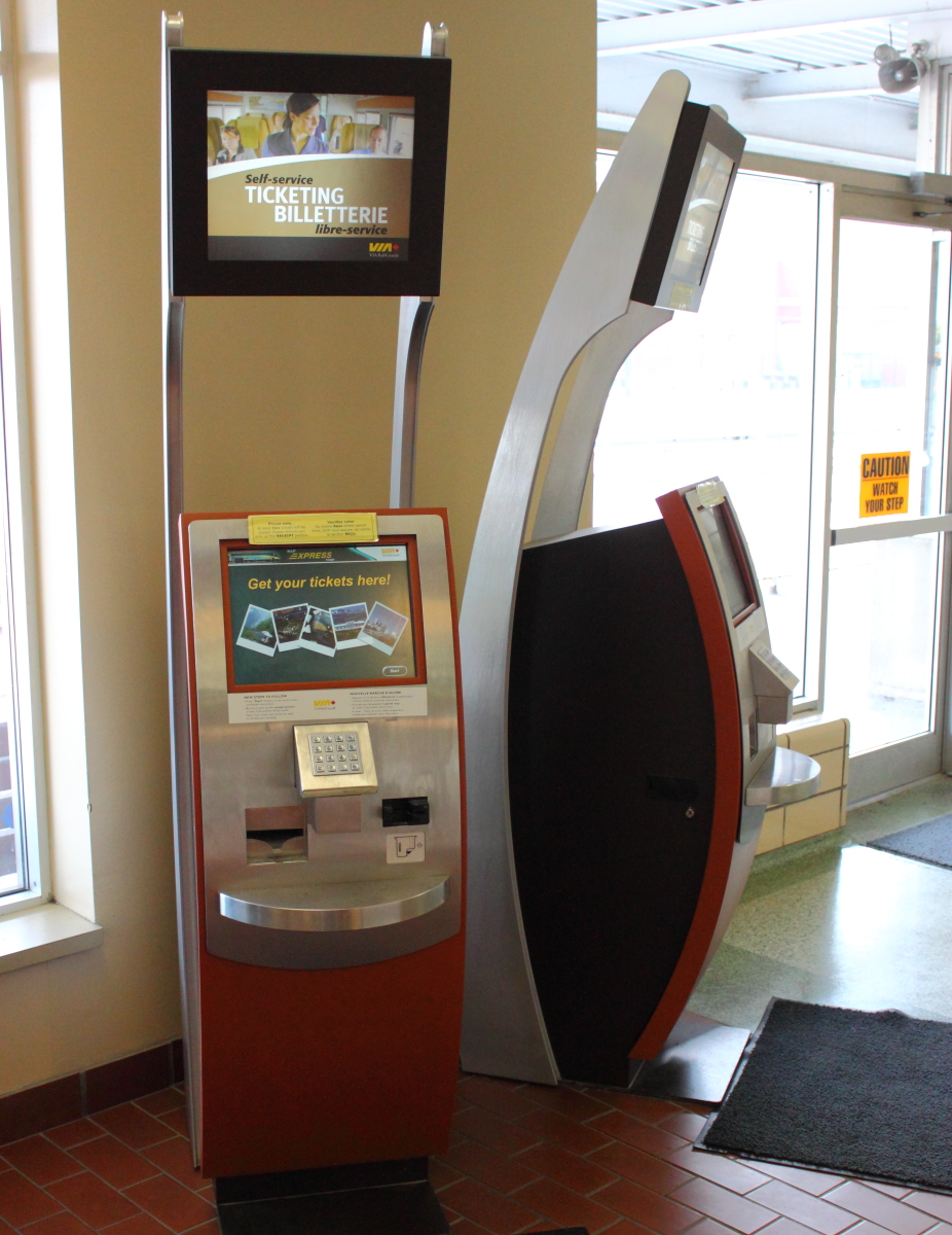 E-Ticket Machine in Windsor, ON 2012/07/17
