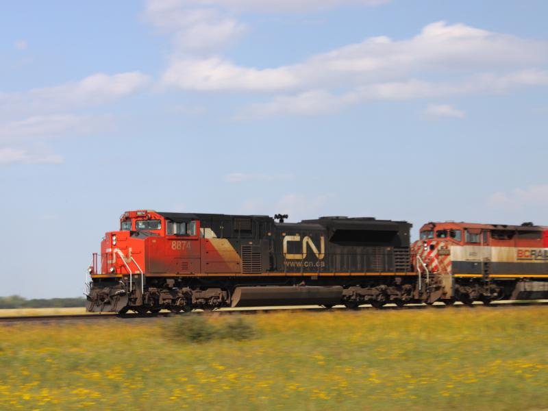 CN 8874 near Winnipeg