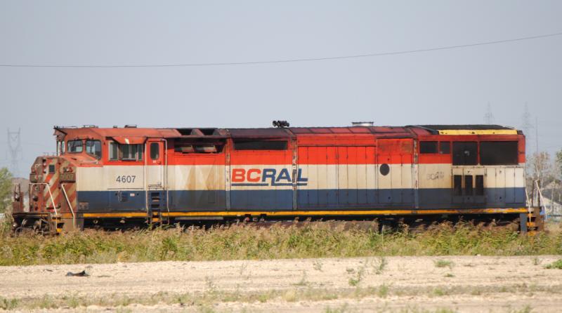 Ex BC Rail 4607 in Transcona