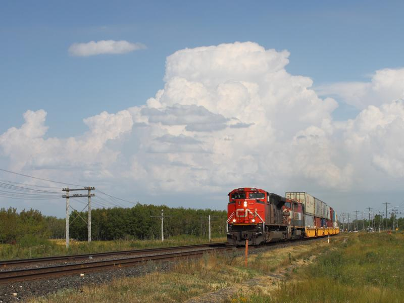 CN 8874 in Winnipeg