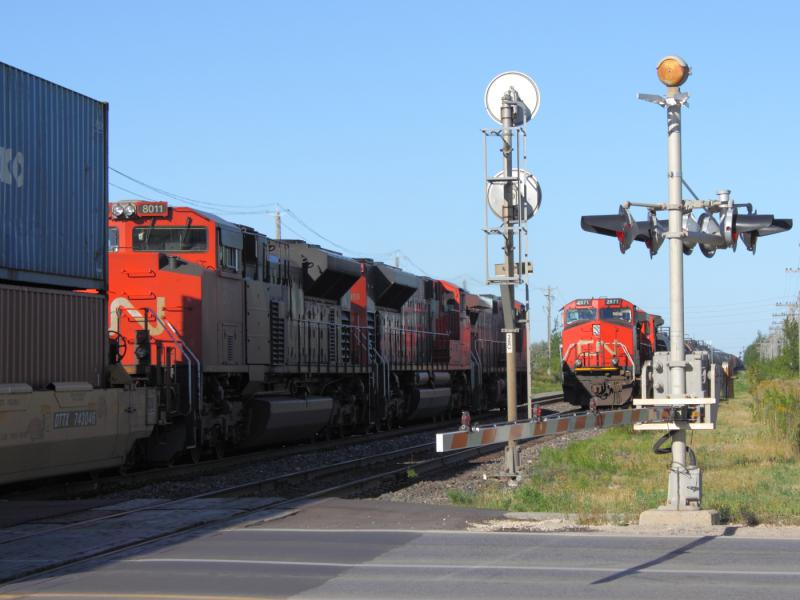 CN 2571 in Winnipeg