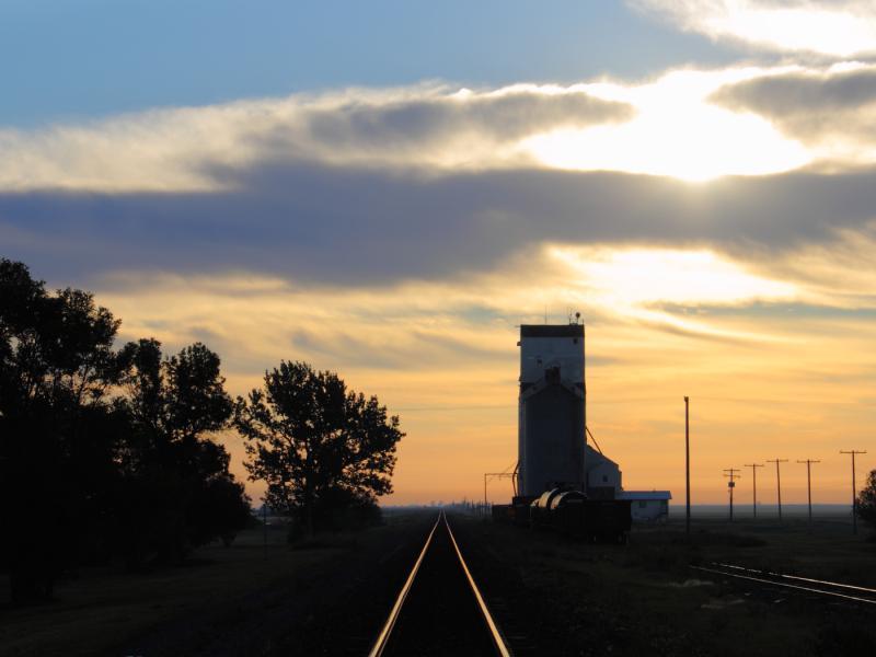 Pense elevator in Saskatchewan
