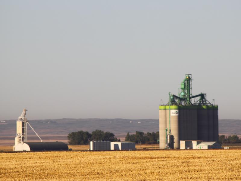 Cargill grain elevator in Moose Jaw