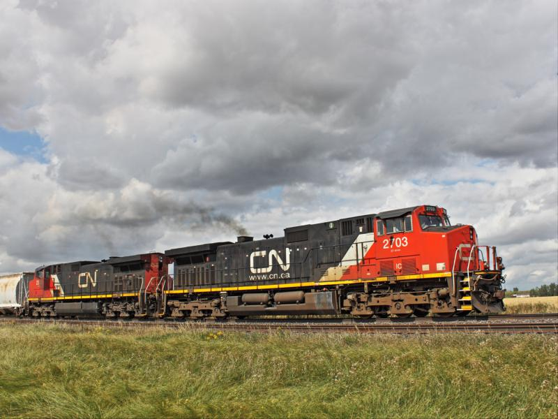 IC 2703 near Winnipeg