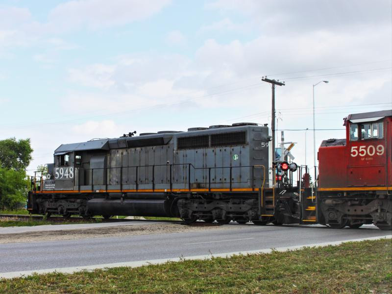 Alstom 5948 in Winnipeg