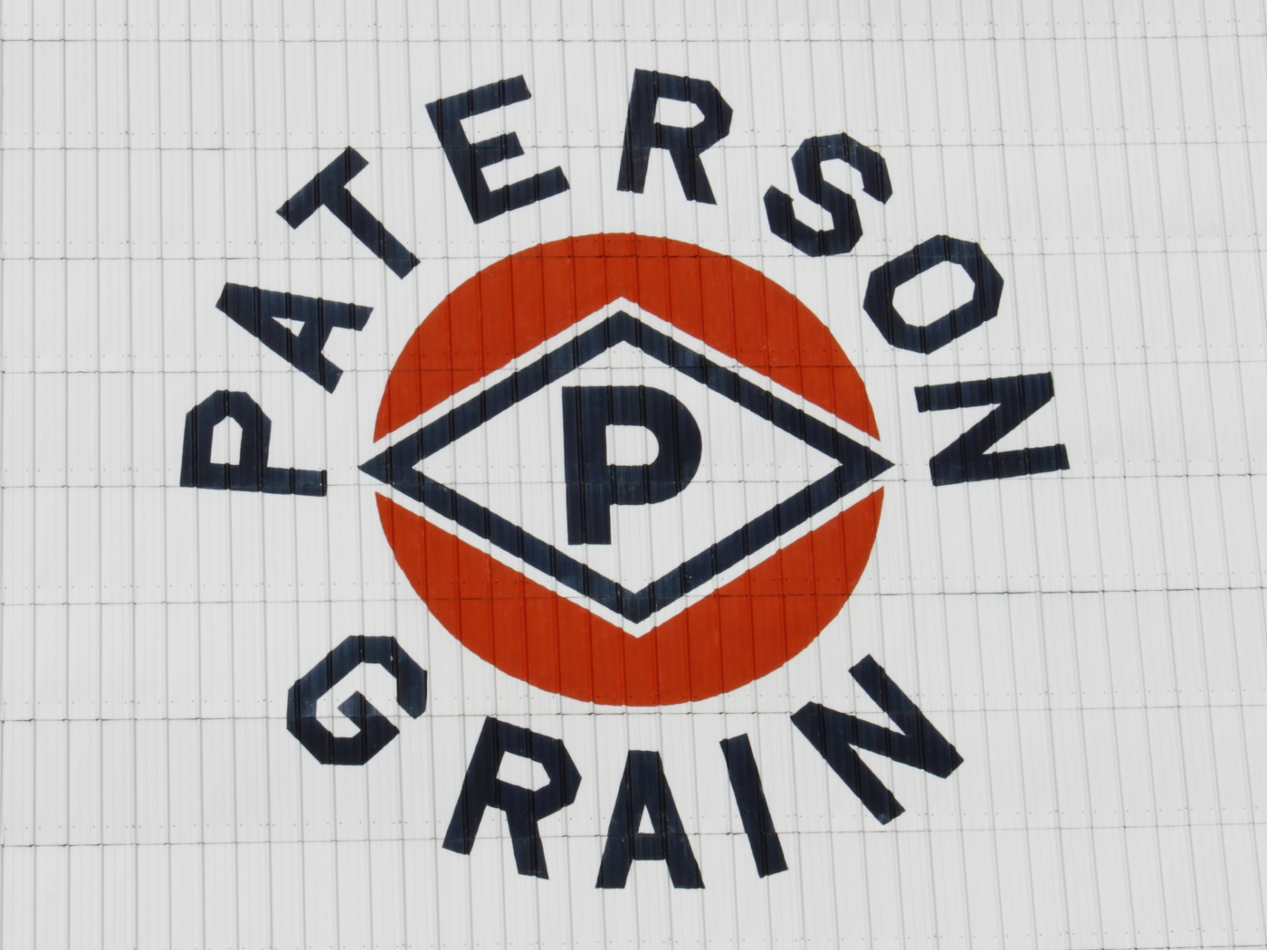 Paterson Grain sign in Grenfell, SK 2012/08/28