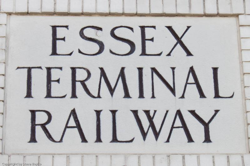 Essex Terminal Railway sign