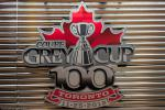 The Grey Cup Toronto tour logo.