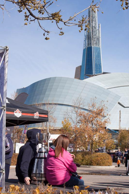 Grey Cup and Human Rights Museum