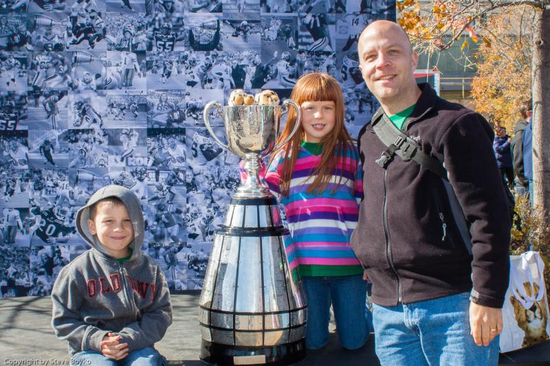 Us and the Grey Cup.