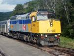 VIA 6424 at Matapedia, Quebec 2006/08/12 by Paul Campbell