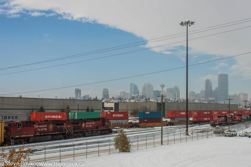 CP 9616 in Calgary