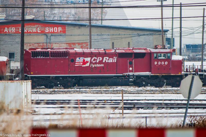 CP 9000 in Calgary