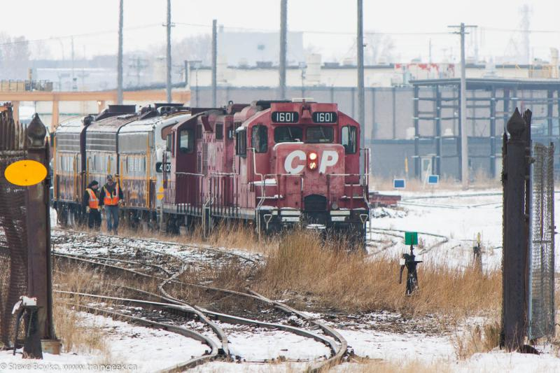 CP 1601 in Calgary, AB