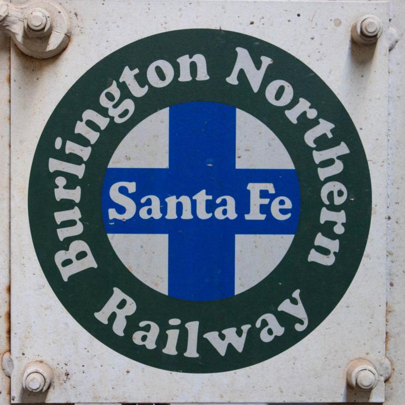 BNSF logo on BN 12580