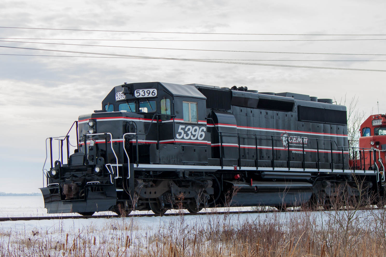 CEMR 5396 in Winnipeg, MB 2012/11/20