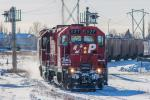 CP 1127 in Winnipeg, MB 2013/01/17