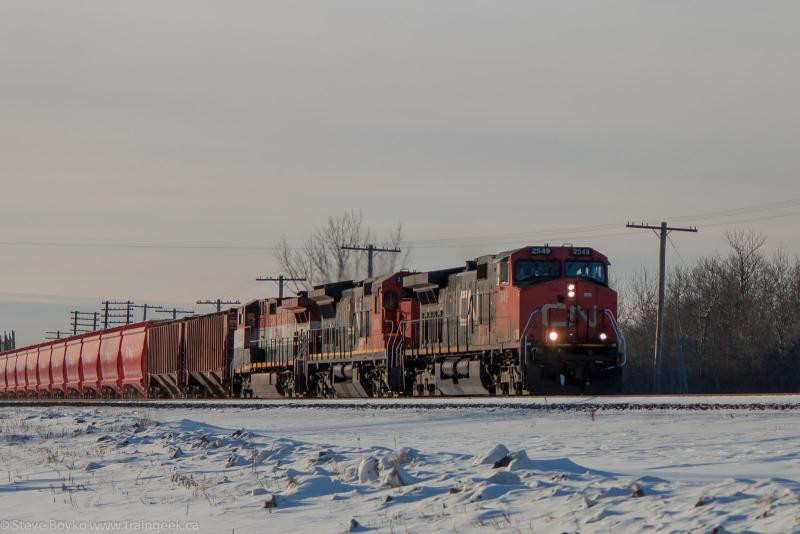 CN 2549 in Winnipeg