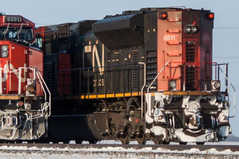 CN 8811 in Winnipeg