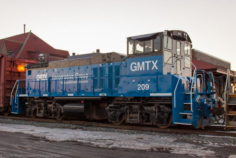 GMTX 209 in McAdam, NB