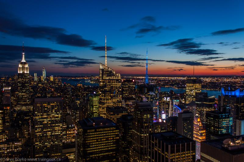 Blue Hour in New York