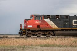 CN 2296 in Winnipeg 2013/09/23